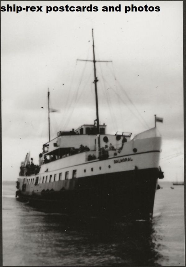 BALMORAL (1949a, Red Funnel) photo (c)